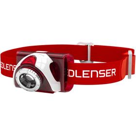 Led Lenser LED SEO 5 Stirnlampe red